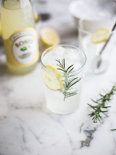 A refreshing gin & tonic with Roses lemon cordial & rosemary recipe on DrizzleandDip Winter Drinks, Summer Drinks, Fun Drinks, Beverages, New Year's Eve Cocktails, Cocktail Drinks, Cocktail Recipes, Drinks Alcohol Recipes, Wine Recipes