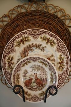 Woodland Harvest by The Victorian English Pottery, Est 1819 :: Dishes I like for Thanksgiving table.