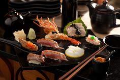 Omakase set favourable menu at Blow Fish