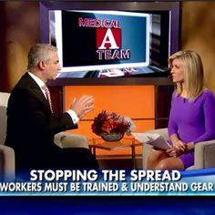 On Fox News with Ainsley Earhardt #healthcare #Ebola #news