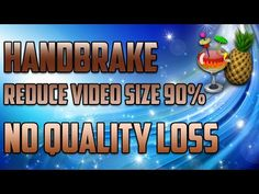 Handbrake -Best Settings - 1080p 60FPS - No Quality Loss - 2016 - YouTube