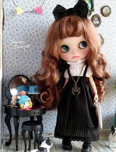 Ooak Dolls, Blythe Dolls, Cute Dolls, Big Eyes, Needle Felting, Fashion Dolls, Doll Clothes, Hello Kitty, Disney Characters