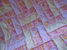 A rag quilt pattern