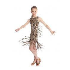 Manilla Dress/Leopard