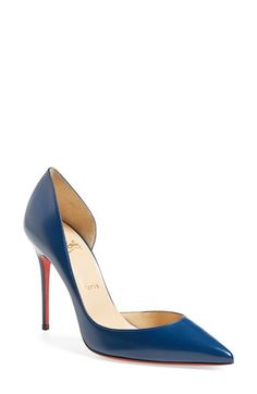 Christian Louboutin 'Iriza' d'Orsay Pump available at #Nordstrom