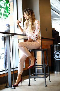 Glamgerous | At Starbucks