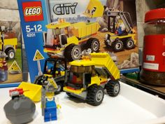 Miners Digger and truck 4201 2012
