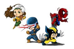 Chibi Marvel Heroes Part 1 by ~Choppic on deviantART