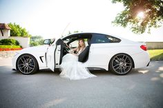 #weddingphotoshoot #weddingcar #bride #weddingday #brautkleid Wedding Car, Wedding Photoshoot, Antique Cars, Around The Worlds, Bride, Instagram, Bridle Dress, Vintage Cars, Wedding Bride