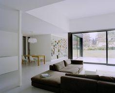 Salas de estilo Minimalista por C95 ARCHITEKTEN