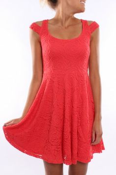 Paint It Red - Counting Stars Dress