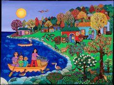 'Otoño', Beatriz Aurora / EZLN, pintura, arte zapatista