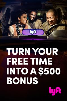$500 Bonus | Click to Apply | Drive with Lyft and earn up to $35/hr plus a $500 bonus after you give 100 rides. Fund your dream board! *Terms Apply*