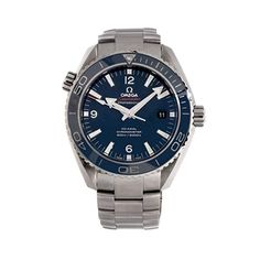 f7b66a225e4 Omega Seamaster Planet Ocean 600m O23290462103001 Men s Automatic-Self-Wind  45.5MM Blue Dial Watch (Certified Pre-Owned)