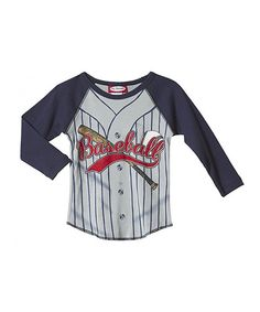 Take a look at this Road Baseball Jersey Raglan Tee - Infant & Boys on zulily today!