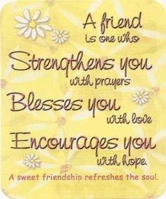 12 best christian friendship quotes images in 2018 Special Friend Quotes, Best Friend Quotes, Friend Sayings, Special Friends, Encouraging Words For Friends, Friend Cards, Quotes Distance, Friendship Poems, Christian Friendship Quotes