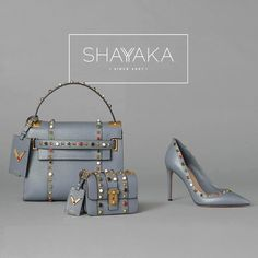 Valentino My Rockstud Bag and B-Rockstud Bag in Calfskin with Stone Embroidery and Gold-tone Hardware | Fall 2016 Collection | Available Now  For purchase inquiries, please contact sales@shayyaka.com or +961 71 594 777 (SMS, WhatsApp, or iMessage) or Direct Message on Instagram (@Shayyaka). Guaranteed 100% Authentic | Worldwide Shipping | Bank Transfer or Credit Card