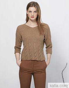 Revista mujer Concept 4 Otoño / Invierno | 27: Mujer Jersey | Camel