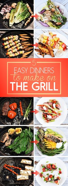 5 Easy Dinners To Make On The Grill