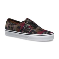 927b9d5fe1 The Inca Authentic combines the original and now iconic Vans low top style  with an allover Inca print