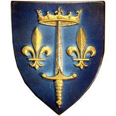 Joan of Arc Coat of Arms | Coat of arms of Joan of Arc ;
