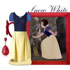 """Snow White"" by merahzinnia on Polyvore"