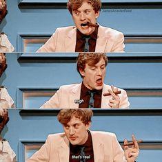 Uk Comedians, Hot British Men, Michael Cera, Blackadder, John Mulaney, Man Crush Monday, British Comedy, Save My Life, Funny Clips