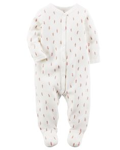 dcf75016f4b394 Baby Girl Thermal Snap-Up Sleep  amp  Play from Carters.com. Shop