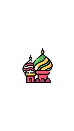 Mini Drawings, Cute Little Drawings, Easy Drawings, Instagram Logo, Instagram Feed, Instagram Divider, Anthropologie Rug, St Basils Cathedral, Story Drawing