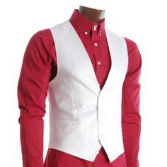 FLATSEVEN Herren Slim Fit Business Casual Premium Weste Weiß FLATSEVEN, http://www.amazon.de/dp/B009NCLQEA/ref=cm_sw_r_pi_dp_6.TNtb1ZGHWPM