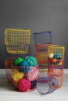 Down to the Woods - Wire Basket - Medium. We love these! Great for storing kids toys. We have one in the bathroom for all the bath toys
