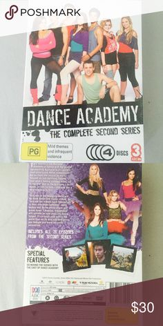 NEW! Dance Academy Complete Second Series New in packaging Dance Academy - The complete second series. 4 Discs including: Raising the Barre, Breaking Pointe, Catch Me if I Fall, & Win or Lose. ABC Other