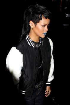 Rih with a mullet