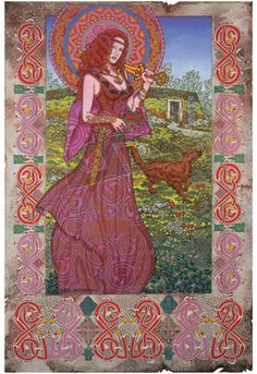 Maeve.Queen of Connaght. by jimfitzpatrick Queen Maeve or Medb is one of the main protagonists of the early Irish legend Táin Bó Cúailnge. It is also associated with the fairy queen Queen Mab of Irish and English legend.