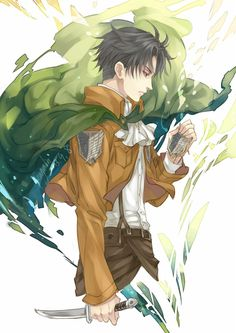 """The difference between your decision and ours is experience. But you don't have to rely on that. CHOOSE . . . believe in yourself, or believe in the Survey Corps and me. I don't know what I believe in . . . I never have. "" -Levi Ackerman"
