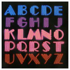 1970s Disco Typography