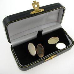 Gents Gold Cufflinks Irish Made Diamond Rings, Diamond Engagement Rings, Irish Jewelry, Galway Ireland, Unique Vintage, Vintage Jewelry, Cufflinks, Jewellery, Antiques