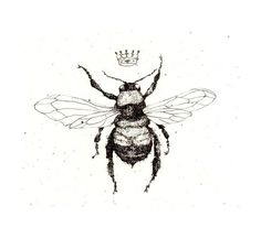 vintage bee tattoo - Google Search