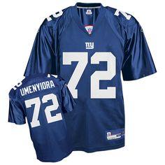 reebok new york giants osi umenyiora 72 blue authentic jerseys sale
