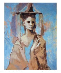 Woman of Majorca / Pablo Picasso 1905 Print