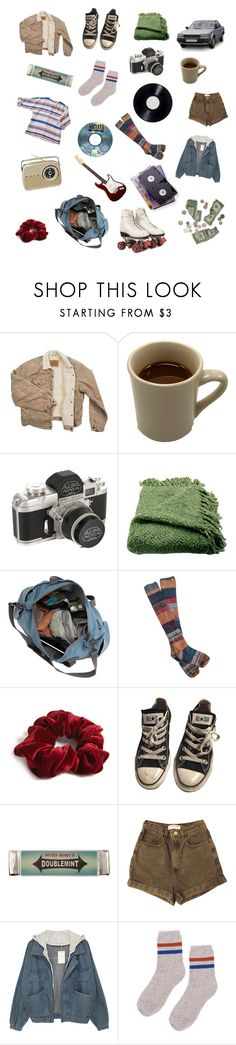 """""""teenage angst"""" by failed-aesthetic ❤ liked on Polyvore featuring Levi's, Woven Workz, Free People, Forever 21, Converse, Miss Bibi, American Apparel and American Standard"""