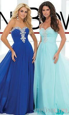 That exactly how I vision my wedding dress is cobalt/royal blue and my bridesmaids dress are aqua/turquiose...not dress style.