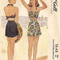 1940s swim suit pattern