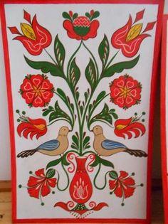 A MAGYARSÁG A MAG NÉPE: A népművészet, mint a magyar nép szakrális művészete - a magyar tulipán - a virágok jelentése Alien Concept, Shabby Chic, Tole Painting, Art Decor, Home Decor, Arts And Crafts, Clip Art, Symbols, Birds