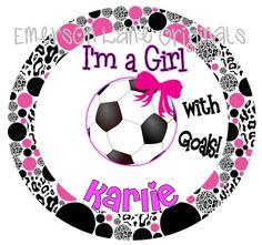 Soccer Girl  TSHIRT by EmersonLaneOriginals on Etsy, $18.00