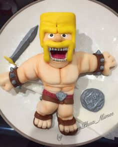 My First Cake - Clash of Clans (Barbarian King)