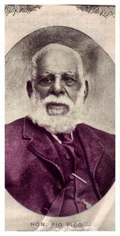 The last governor of Mexican California, Pio De Jesus Pico, was a direct descendant of the Olmec Mayans aka the Africans of Ancient Black Mexico.