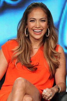 Famous Actress,Dancer,Fashion-Designer,Mommy,Singer Jennifer Lopez Wearing Her Flippy-Layered Hairdo.