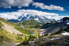 Seven stunning hikes near Mount Baker. Photo by Climbear #hikes #hiking