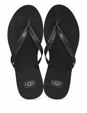 Zwarte Ugg schoenen Magnolia slippers